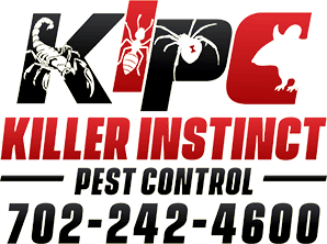 Killer Instinct Pest Control Logo